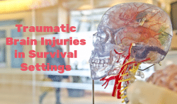 Traumatic Brain Injuries in Survival Settings