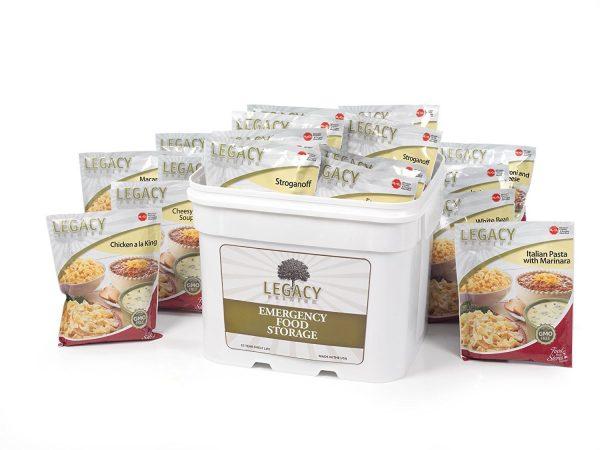 Legacy Survival Food Package 240 Servings
