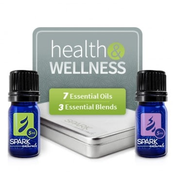SPARK NATURALS Health and Wellness Kit