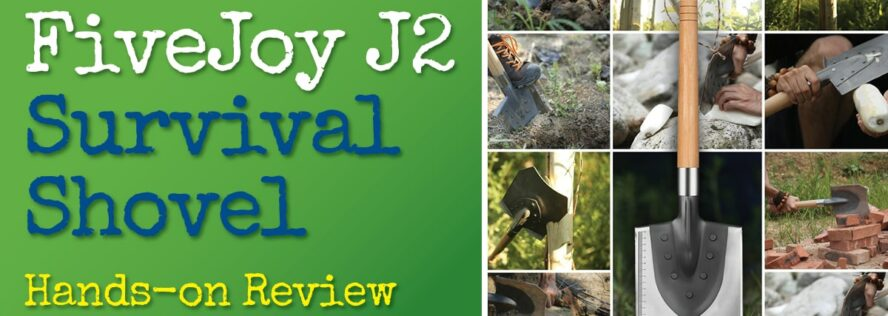 FiveJoy J2 Entrenching Survival Shovel Review – Hands On Testing