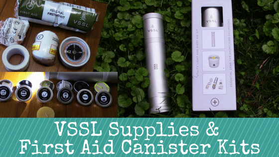 VSSL Supplies Review & First Aid Canister Kits Review: Cleverly Designed for Peace of Mind