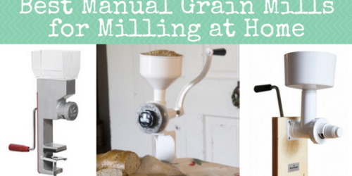 Best Manual Grain Mills for Milling at Home   Backdoor Survival