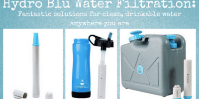 Hydro Blu Water Filtration Review: Fantastic solutions for clean, drinkable water anywhere you are