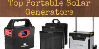 Best Portable Solar Generators for Emergencies