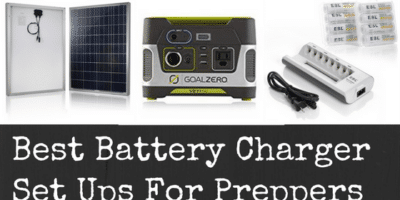 Best Battery Charger Set Ups For Preppers