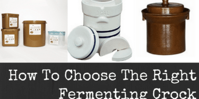 How To Choose The Right Fermenting Crock: Best Fermenting Crocks
