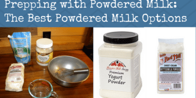 Prepping with Powdered Milk: The Best Powdered Milk Options