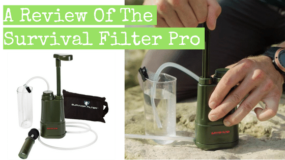 A Review Of The Survival Filter Pro