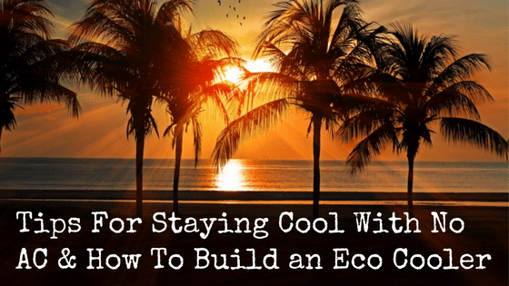 Tips For Staying Cool With No AC & How To Build an Eco Cooler