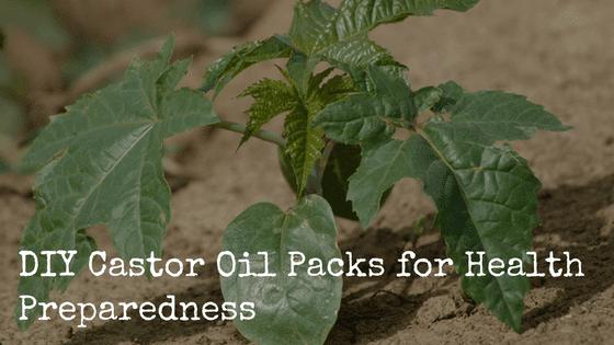 DIY Castor Oil Packs for Health Preparedness
