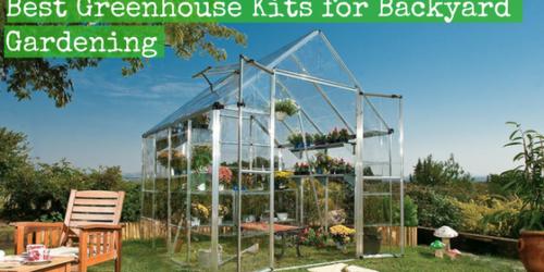 Superb Best Greenhouse Kits For Backyard Gardening Backdoor Survival Home Interior And Landscaping Palasignezvosmurscom