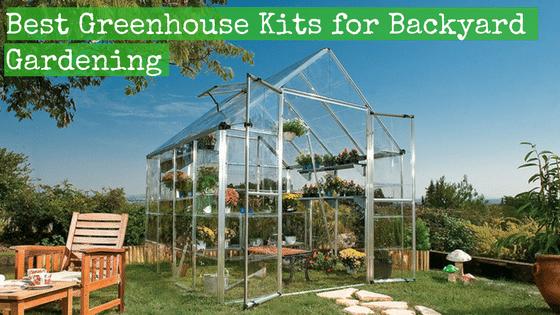 Best Greenhouse Kits for Backyard Gardening