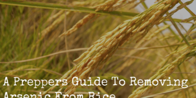 A Preppers Guide To Removing Arsenic From Rice