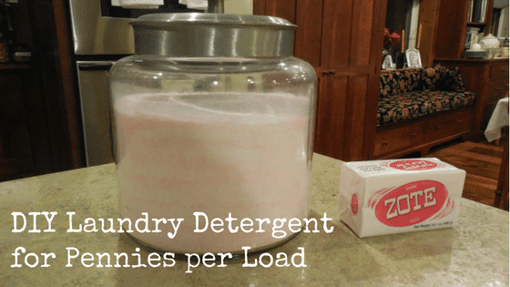 DIY Laundry Detergent for Pennies per Load
