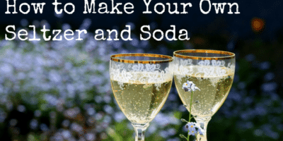 How to Make Your Own Seltzer and Soda