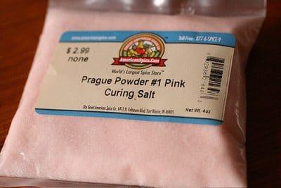 pink curing salt prague powder