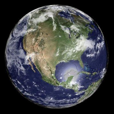 earth globe round map