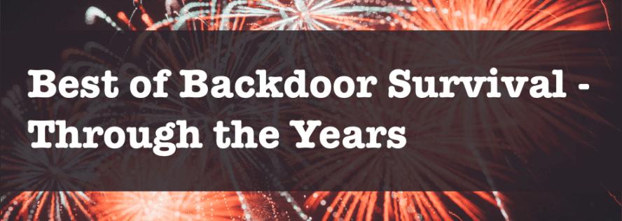 The Best of Backdoor Survival