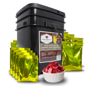 wise food prepper dried fruit