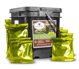 wisie food container prepper powder food