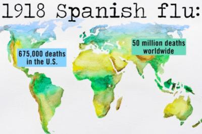 spanish flu graphic 1918