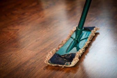 mop cleaning floor wood bleach supplies