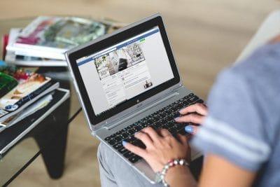 computer laptop browsing internet
