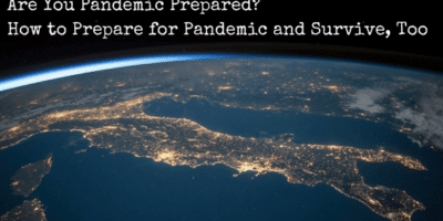 Are You Pandemic Prepared? How to Prepare for Pandemic and Survive, Too