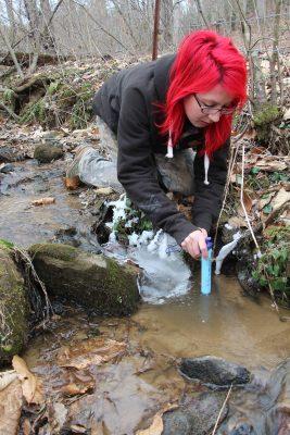 lifestraw testing river