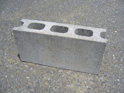 concrete block cinder