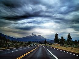 open road driving