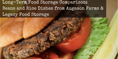 Augason Farms vs Legacy Food Storage: Long-Term Food Storage Comparison