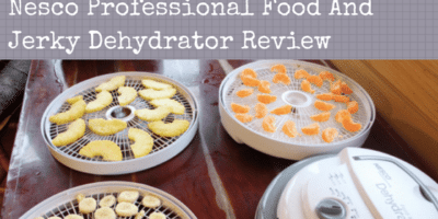 Nesco Professional Food And Jerky Dehydrator Review