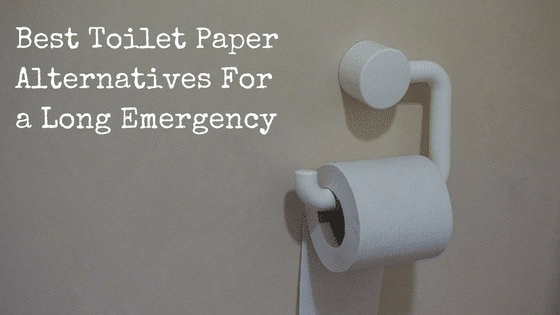 Best Toilet Paper Alternatives For a Long Emergency