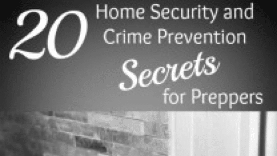 37 Home Security and Crime Prevention Secrets for Preppers