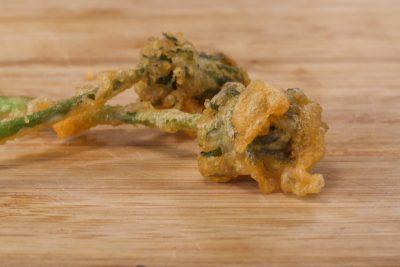 dandelion fritter