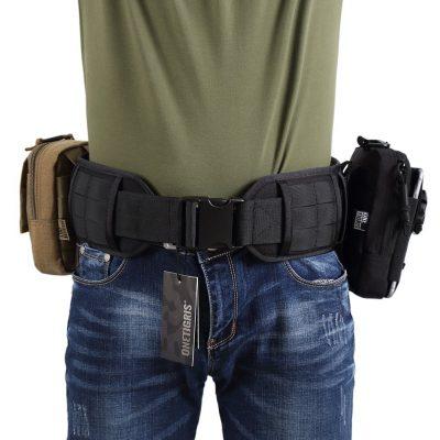 OneTigris Padded Patrol Belt 1000D Nylon Dual-use MOLLE Belt