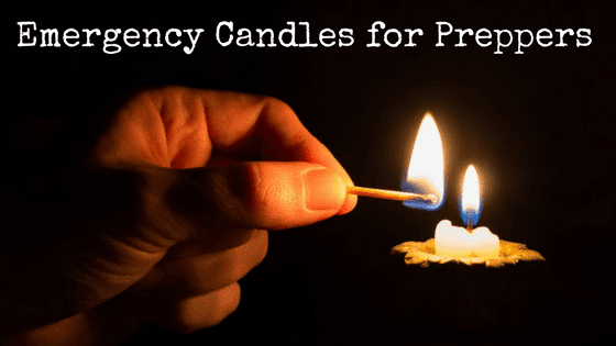 Emergency Candles for Preppers
