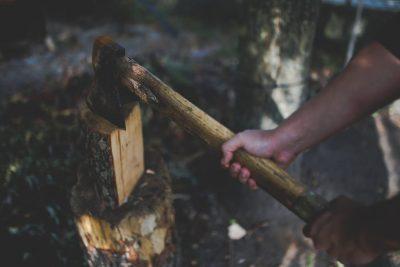hatchet-axe-chopping-wood