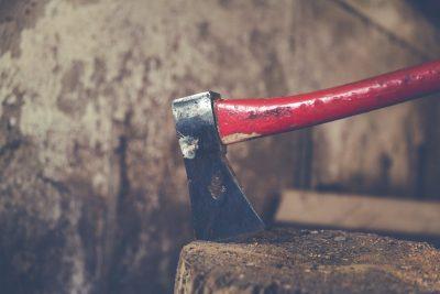 hatchet-axe-in-wood