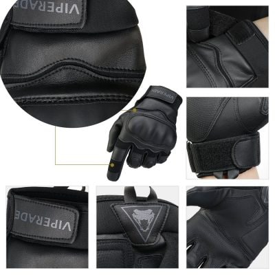 Viperade Military Rubber Hard Knuckle Outdoor Glove