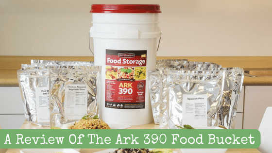 A Review Of The Ark 390 Food Bucket