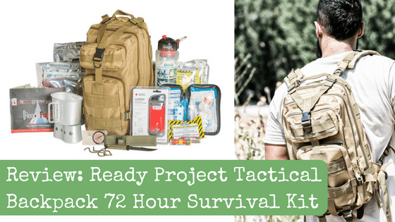 Review: Ready Project Tactical Backpack 72 Hour Survival Kit