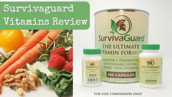Survivaguard Vitamins Review [+Giveaway Raffle]