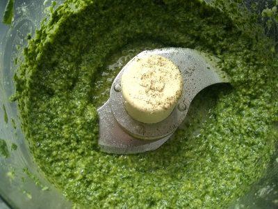pesto food processor