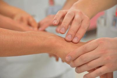 skin-touching-hand-arm