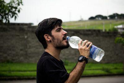 water-drinking-man