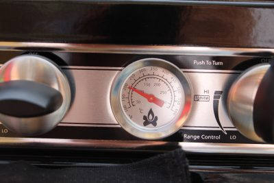 camp chef camping oven temperature