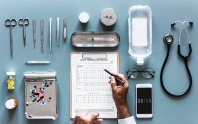 doctor notepad pills