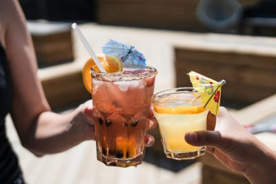 drinking alcohol cocktail